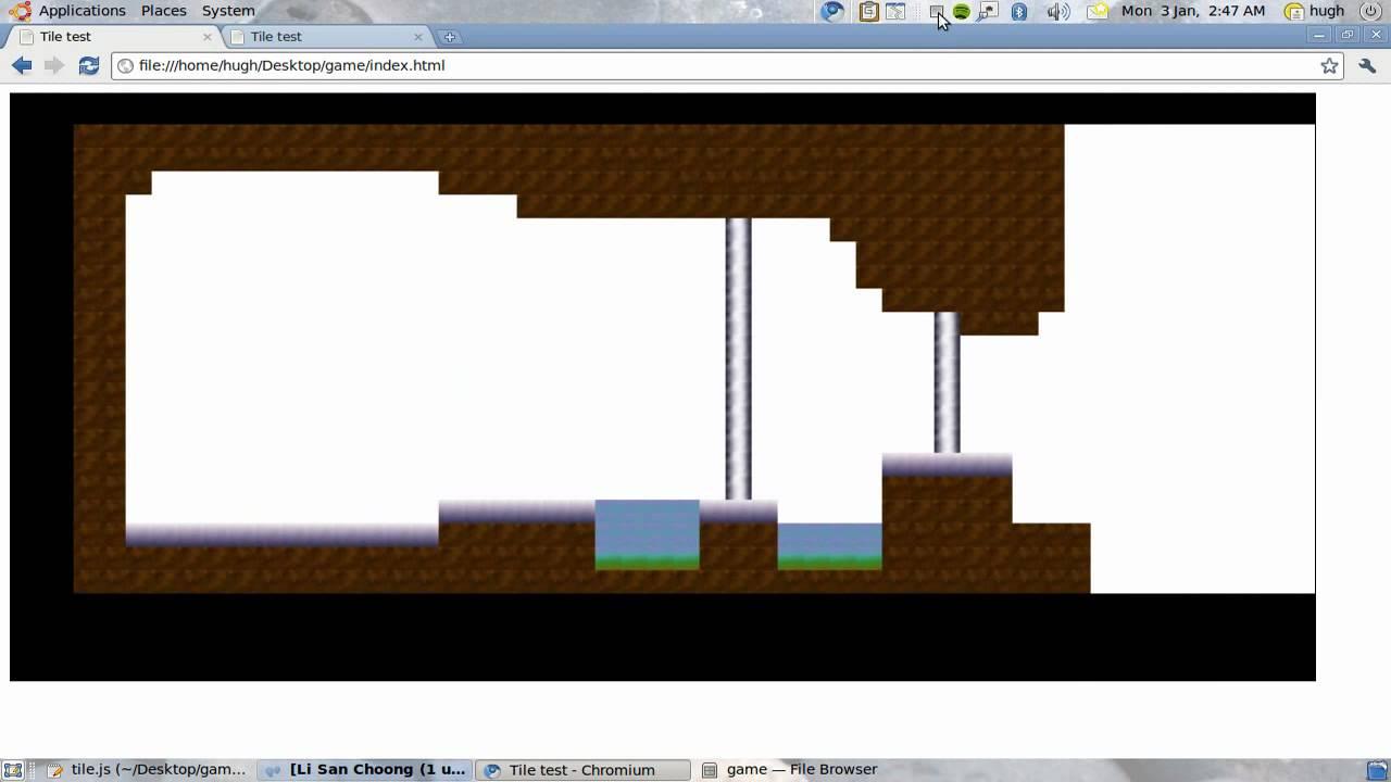 HTML5 canvas level editor demo