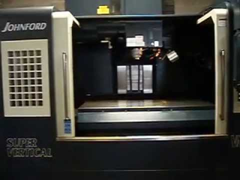 LE Light Engineering Auction - Lot 286 - Johnford Model VMC-1600 CNC Vertical Machining Center
