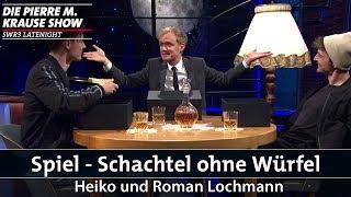 Schachtel ohne Würfel mit Heiko und Roman Lochmann