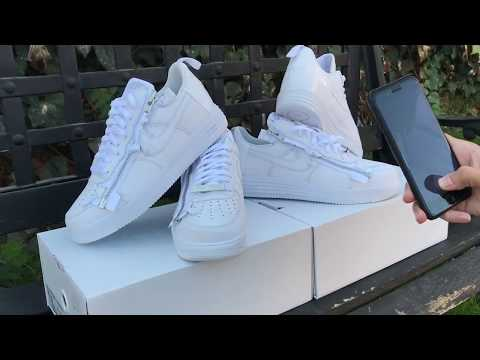 Acronym Nike Air Force 1 (AF100) Review Complex Con Exclusive 📍
