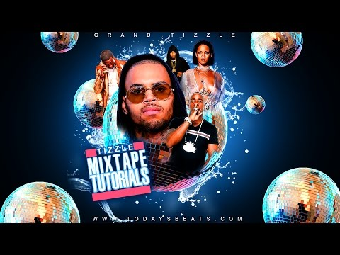 How to make Flyer Effects Mixtape Cover Graphic Designs in Adobe Photoshop CS6 Effects Tutorials CC