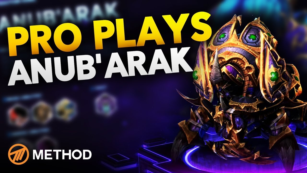 Pro Plays Anub Arak Hots Gameplay Commentary With Pro Player Method Athero Youtube He will use both abilities whenever he is after some time anub'arak will burrow underground and enter phase 2. pro plays anub arak hots gameplay commentary with pro player method athero