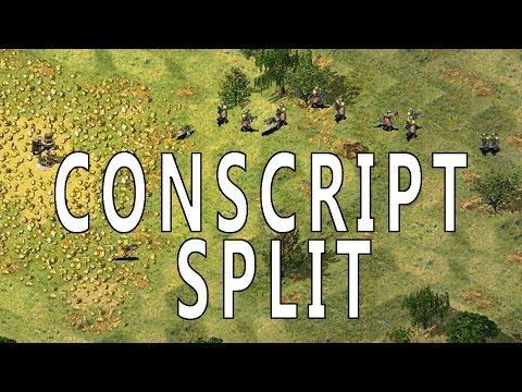 THE CONSCRIPT SPLIT // Command and Conquer