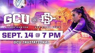 GCU Women's Volleyball vs San Diego State September 14, 2019