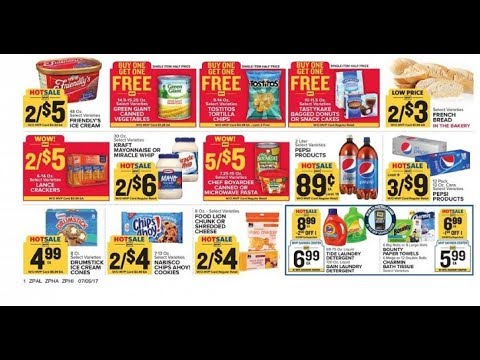 Food Lion Weekly Ad Fuquay Varina Nc Valid To 711 2017 Youtube