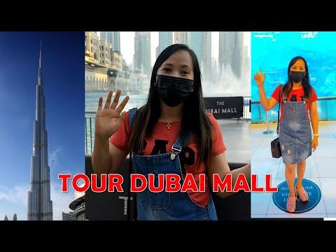 DUBAI MALL TOUR I BURJ KHALIFA I WATERFALLS AND AQUARIUM I DUBAI UAE 2021