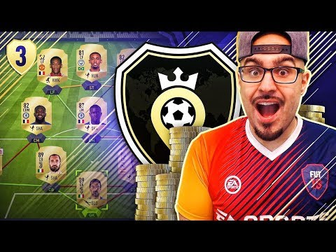 OMG WE ARE NUMBER 1 IN THE WORLD! ROAD TO SQUAD BATTLES FIFA 18 Ultimate Team