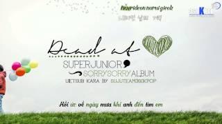 [Vietsub + Kara][Audio] Super Junior - Dead At Heart