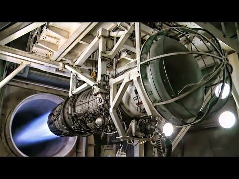Jet Engine Test • 60 Seconds Of Screaming Power