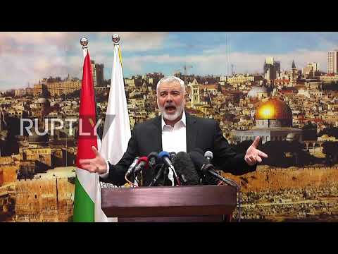 State of Palestine: Hamas calls for new Intifada to make Trump 'regret this decision'