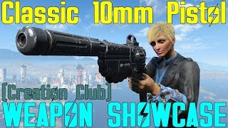 Fallout 4: Weapon Showcases: Classic 10mm Pistol