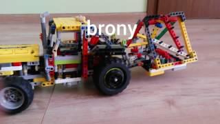 Lego technic maszyny rolnicze