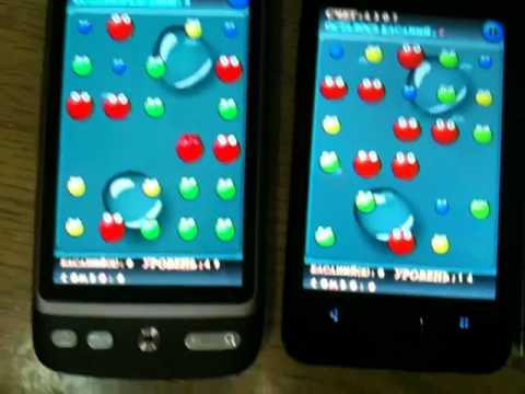 Meizu M9 vs iPhone 4 vs HTC Desire (AMOLED)