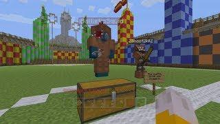 Minecraft Xbox - Harry Potter Adventure Map - Quidditch Pitch - Part 6
