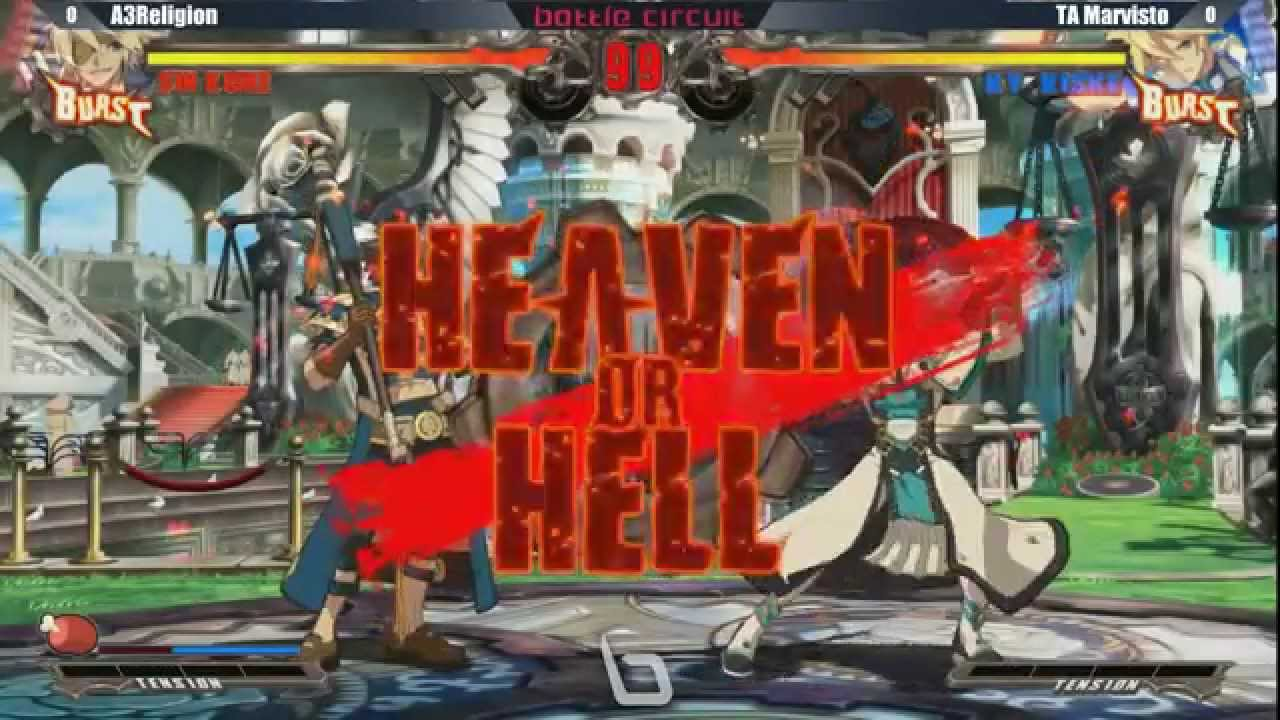 Next Level Battle Circuit 145 - GGXRD - A3Religion (Sin) vs TA Marvisto (Ky)