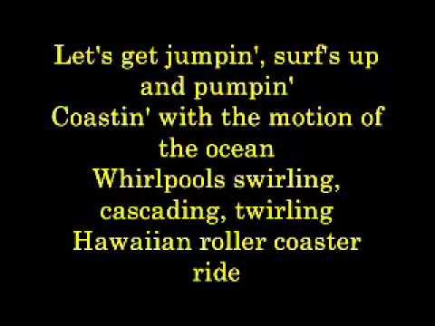 Hawaiian Roller Coaster Ride Lyrics