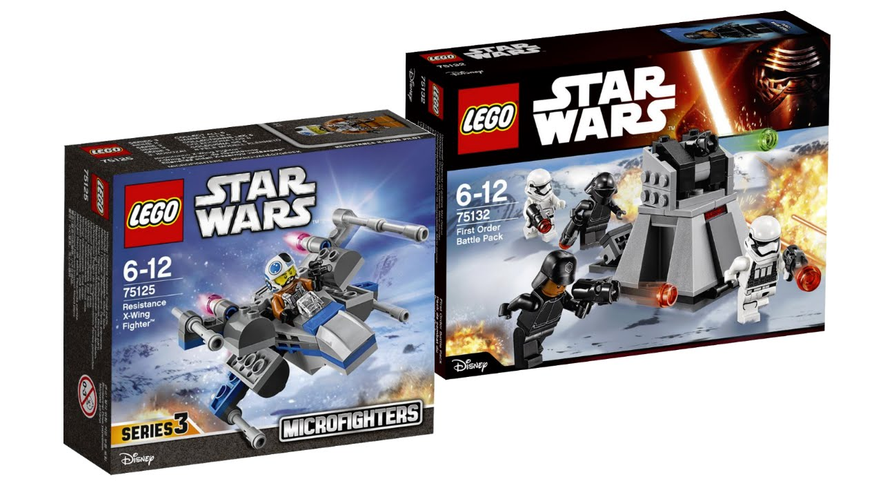 Lego Star Wars 2016 All Winter 2016 Sets Pictures Youtube