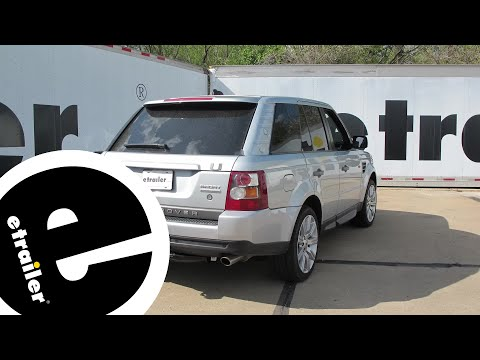 Installation of a Trailer Wiring Harness on a 2008 Land Rover Range Rover Sport - etrailer.com