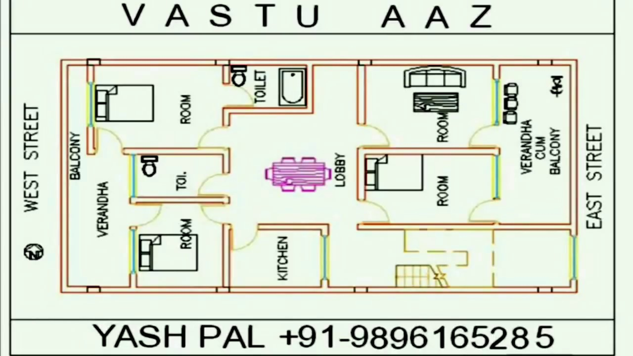 VASTU (EAST FACE) 30\'x63\' - YouTube