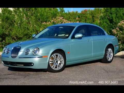2005 jaguar s type 3 0 for sale phoenix az youtube. Black Bedroom Furniture Sets. Home Design Ideas