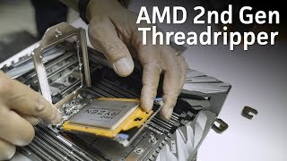 Threadripper 2 unboxing and install with Jim Anderson of AMD!
