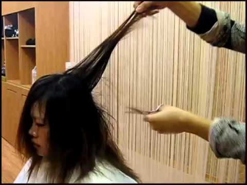 how to cut hair by self