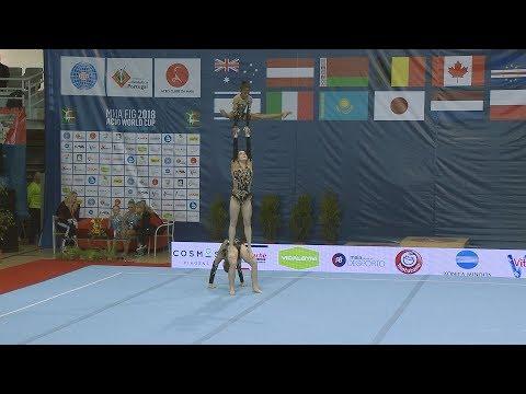 Ginástica: Maia International Acro Cup 2018