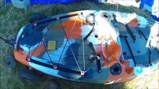видео Каяк для рыбалки FeelFree Lure 11.5