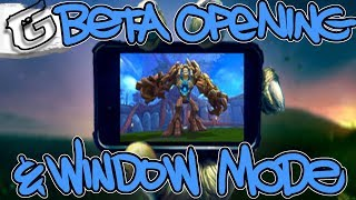 Mobile beta opening for Android & Fixed Window mode removal