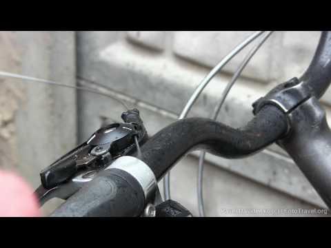Замена тросика переключения передач.
