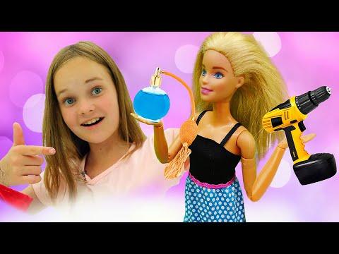 Видео игры с куклой Барби - Духи или машина? - Выбираем профессии в Шоу для детей Будет исполнено.