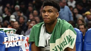 Giannis is the most overrated player in basketball – Ryan Hollins | First Take