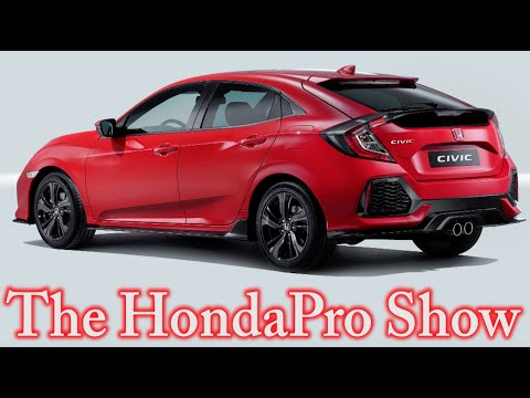 HONDA NEWS - 2017 CIVIC HATCHBACK - 11 SPEED HONDA TRANS - NSX GT3