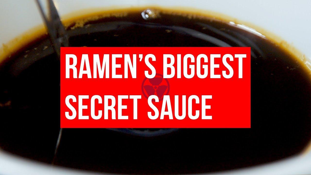 Download RAMEN CULTURE: How to make RAMEN TARE SAUCE video