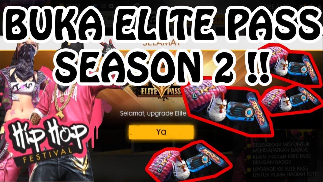 Elite Pass Season 2 Hadiahnya Edun Free Fire Indonesia Youtube
