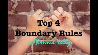 Top 4 Boundary Rules For Asserting Boundaries