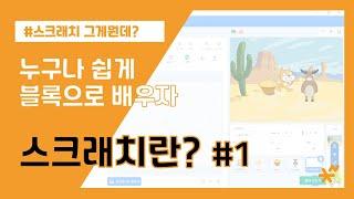 스크래치란 무엇일까 ? ( 3.0 / 코딩 )