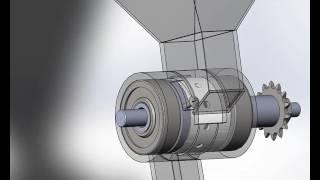 Конструктивно технологическая схема высевающего аппарата ВАС52