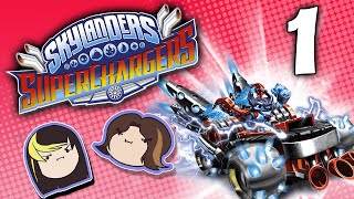 Skylanders Superchargers: Take the Treasure! - PART 1 - Grumpcade