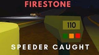 ROBLOX | Firestone DHS, Speeder Caught
