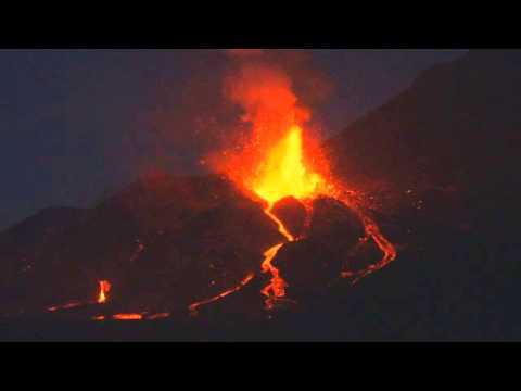 Volcanic Eruption at Fogo, Cape Verde, 2014