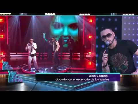 Yo Me Llamo Wisin y Yandel Panama Eliminados - Post show