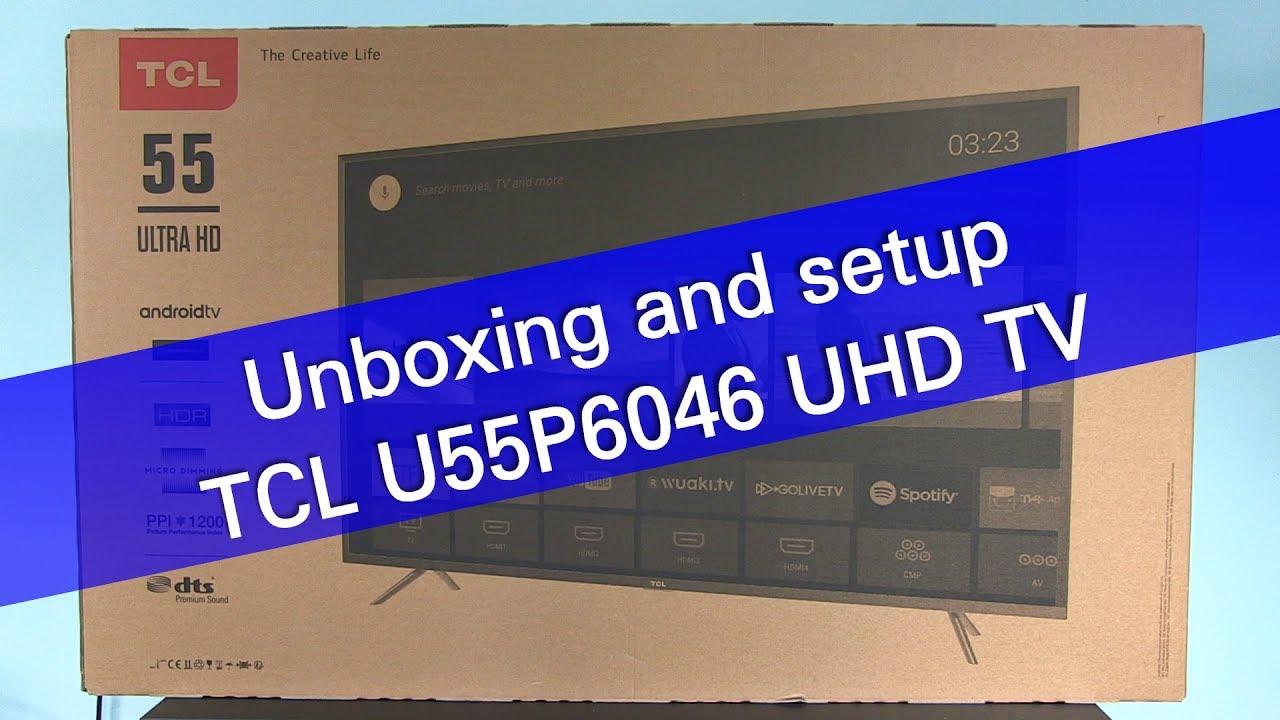TCL L55C1CUS обзор телевизора - YouTube
