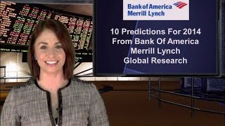 Bank of America Merrill Lynch Global Research Issues 10 Predictions for 2014