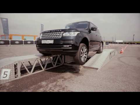 Suprotec на Jaguar Land Rover Tour в Петербурге