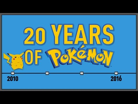 How Pokémon took over the world in 20 years