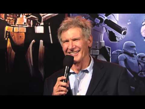 Star Wars: The Force Awakens: Australia Fan Event, Harrison Ford Red Carpet Interview