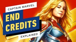 Captain Marvel - End Credits Scenes Explained