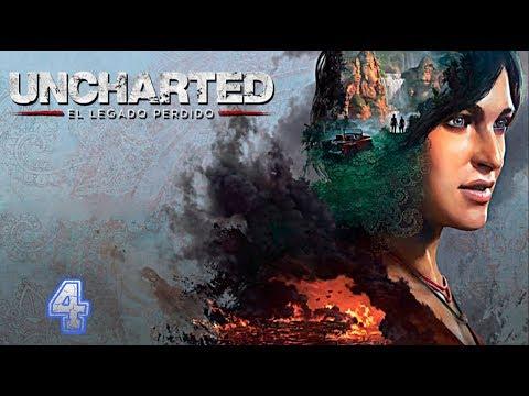 Uncharted: El Legado Perdido - Capítulo 4: El Rubí De La Reina (Let´s Play En Español)