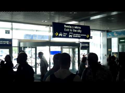 Airport Boryspil - Ukraine Kiev - information and a short guided tour